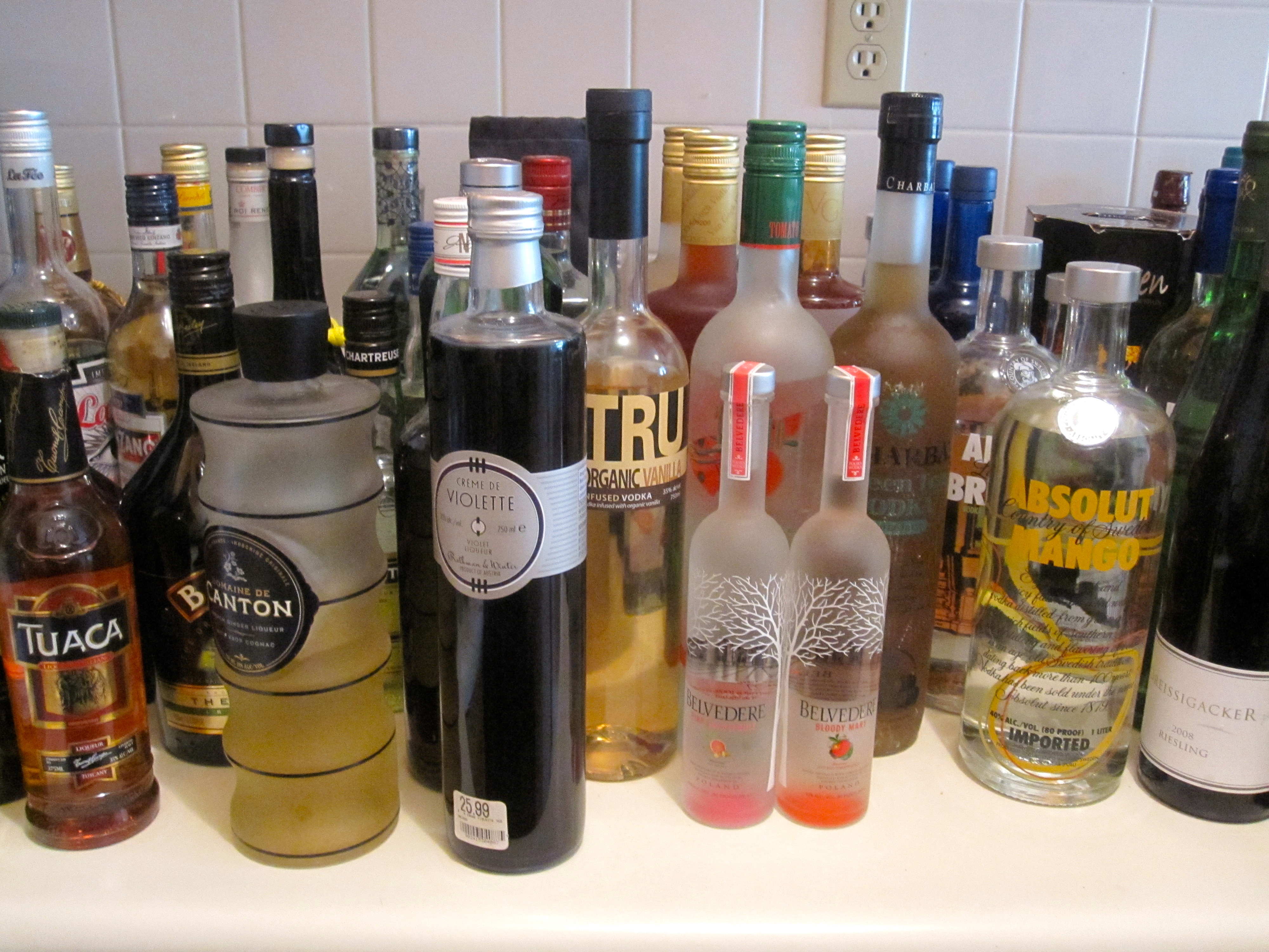 How to Organize Your Liquor Cabinet | Six Twists